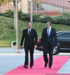Official welcoming ceremony held in Tbilisi for President Ilham Aliyev - Gallery Thumbnail