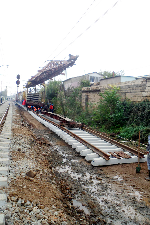 Railway section to be overhauled in Azerbaijani western direction - Gallery Image