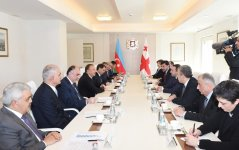President Ilham Aliyev and the Georgian Prime Minister held an expanded meeting - Gallery Thumbnail