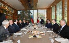 Georgian Premier Irakli Garibashvili hosted dinner reception in honor of President Ilham Aliyev - Gallery Thumbnail