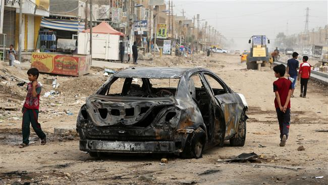 Dozens killed in west Iraq air strike, MPs and medics say