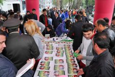 Nar actively particpates in pomegranate festival in Goychay district - Gallery Thumbnail
