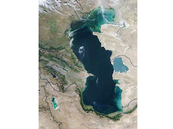 Туркменистан возводит на Каспии искусственный остров