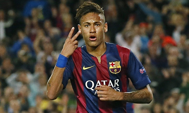 Neymar rekor bedelle Paris Saint-Germain'de