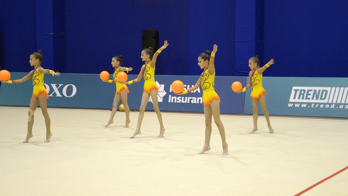XXII Bakı çempionatı və birinciliyində qalib gimnastlar mükafatlandırıldı - Gallery Image