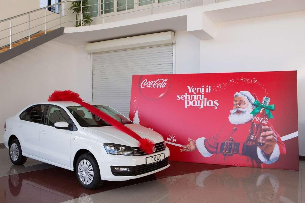 """""""Coca-Cola""""nın Yeni il aksiyasının ilk qalibi müəyyənləşib (FOTO) - Gallery Image"""