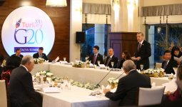 President Ilham Aliyev attended the working dinner hosted by the President of Turkey - Gallery Thumbnail
