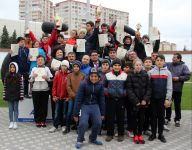 Velotrekdə Yasamal məktəblilərinin yarışı keçirilib (FOTO) - Gallery Thumbnail