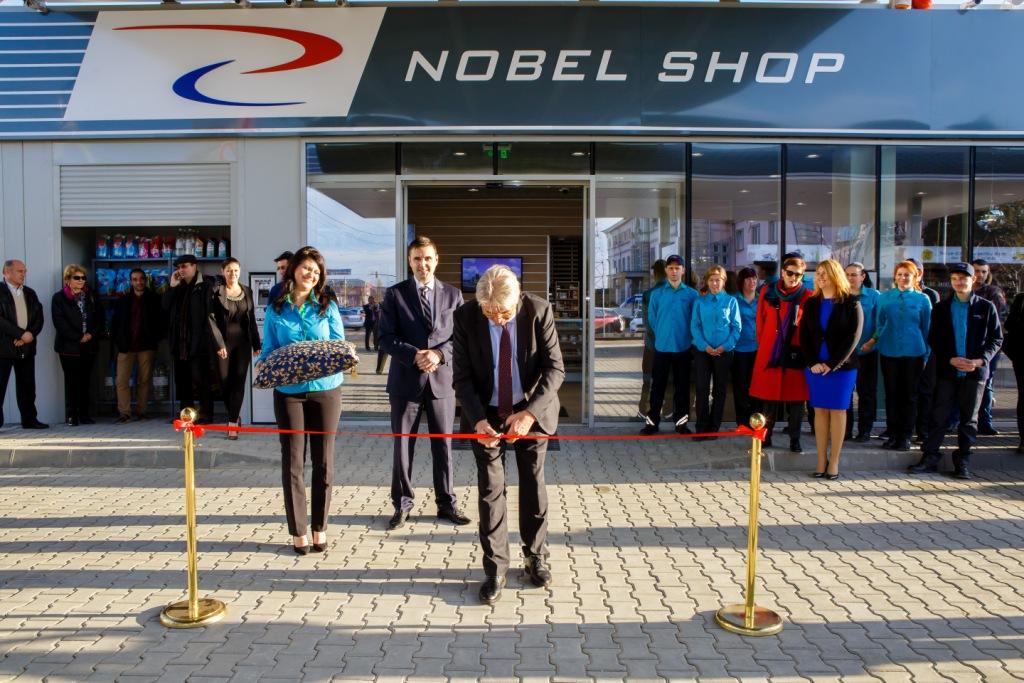 Nobel Oil Avrupa'daki ilk akaryakıt istasyonunu açtı - Gallery Image