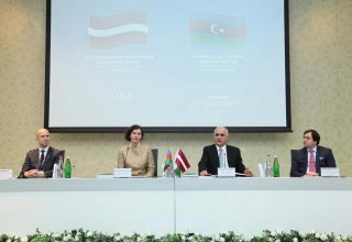 Nazir: Latviyada Azərbaycan sahibkarlarına hər cür şərait yaradılacaq (FOTO)