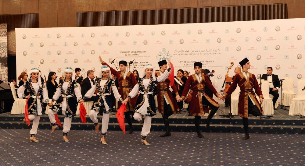ISESCO Baş Konfransının XII sessiyasının iştirakçılarının şərəfinə ziyafət (FOTO) - Gallery Image