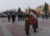 President Aliyev pays tribute to Great Patriotic War Victory in Minsk - Gallery Thumbnail