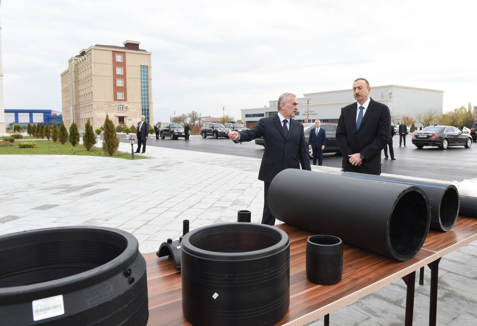 Water supply system commissioned in Nakhchivan - Gallery Image