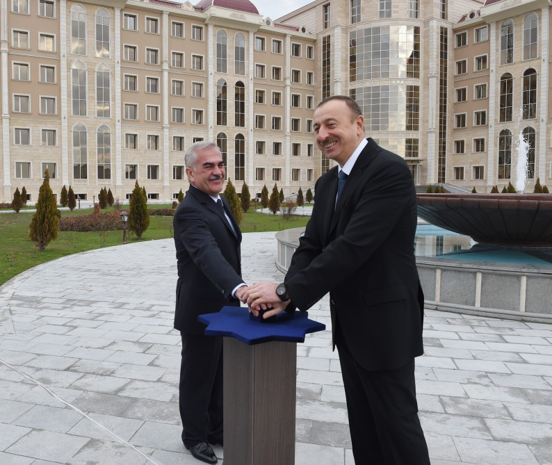 Water supply system commissioned in Nakhchivan