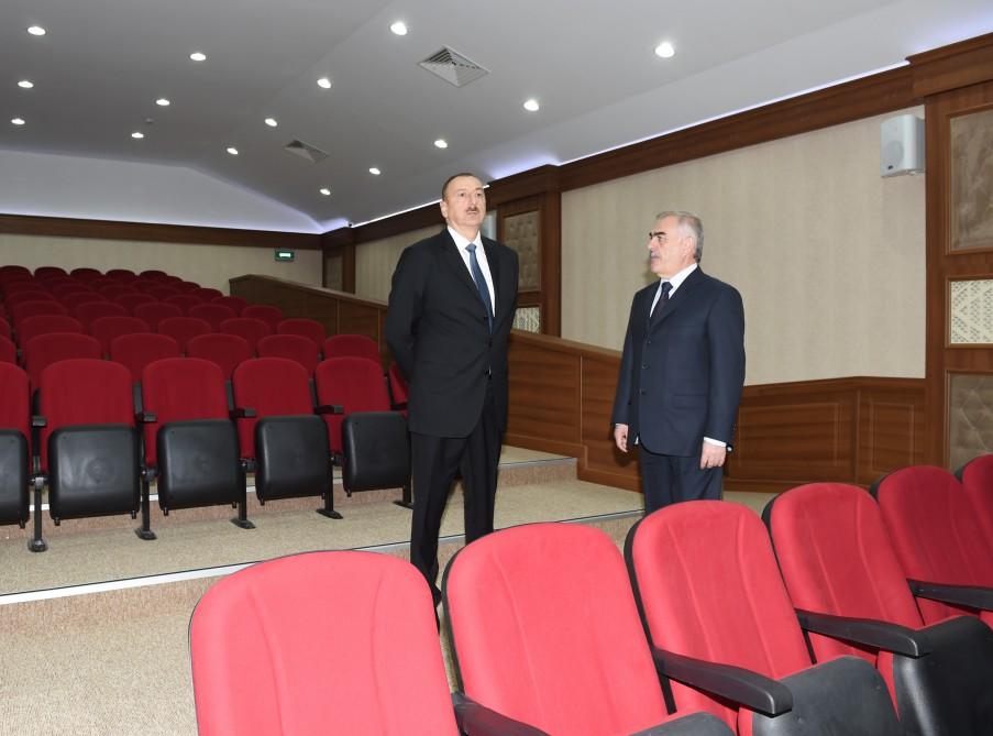 Azerbaijani president attends opening of Nakhchivan Autonomous Republic Hospital (PHOTO) - Gallery Image