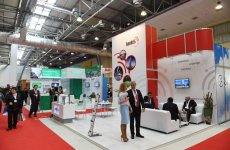 Azerbaijani president visited Bakutel 2015 exhibition (PHOTO) - Gallery Thumbnail
