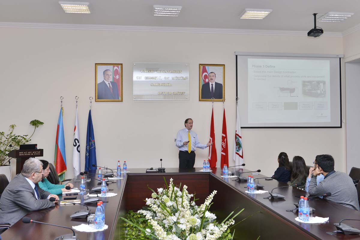 General manager of Emerson Process Management holds workshop at BHOS - Gallery Image