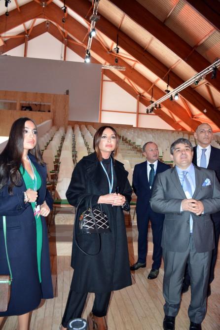 Мехрибан Алиева и Лейла Алиева приняли участие на 21-ой конференции ООН по вопросам изменения климата в Париже (ФОТО) - Gallery Image