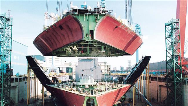 Iran produces 800 vessel spare parts