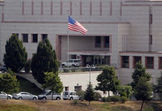 Unknown persons open fire at US Embassy in Ankara