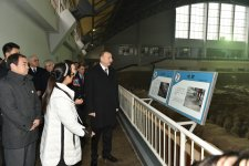 President Ilham Aliyev views Terracotta Army Museum in China - Gallery Thumbnail