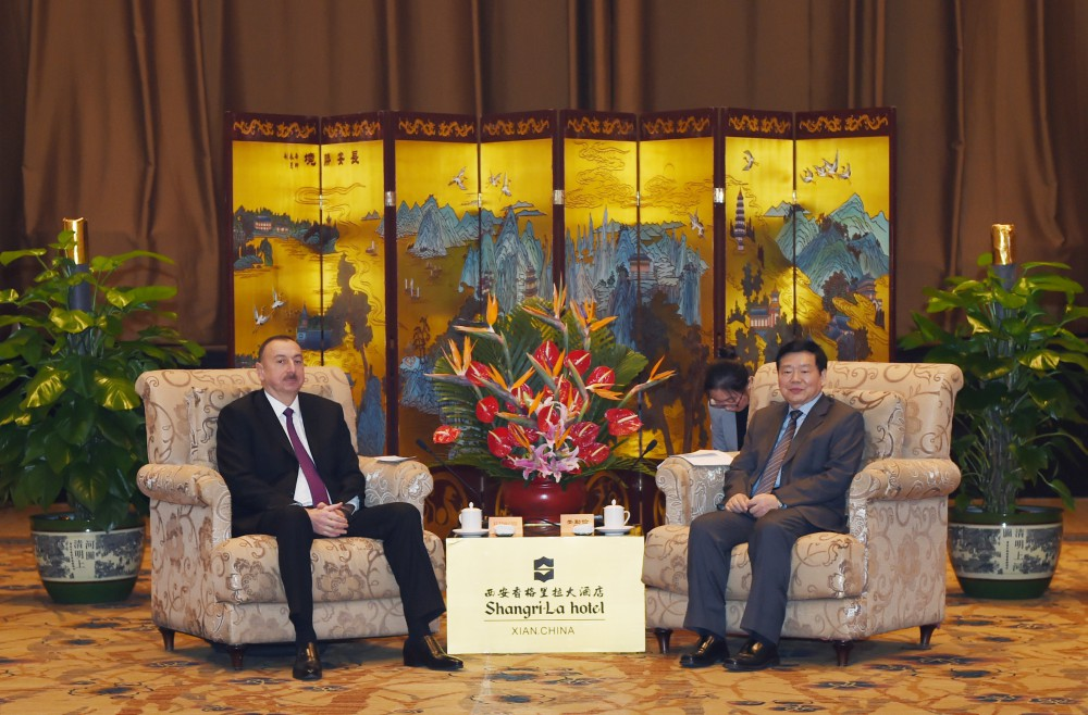 President Aliyev: Azerbaijan wants to expand co-op with China in all areas (PHOTO) - Gallery Image