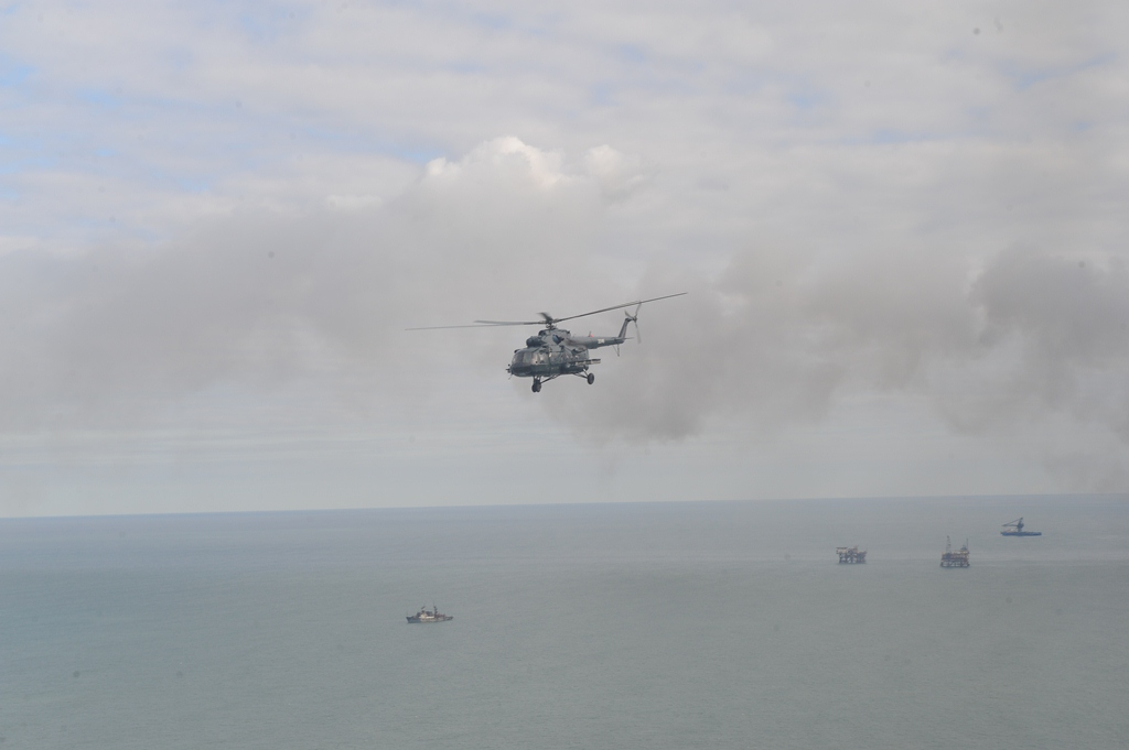 Searching area for missing Azerbaijani oilmen expanded