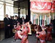 Президент Азербайджана ознакомился со Столичным музеем в Пекине (ФОТО) - Gallery Thumbnail