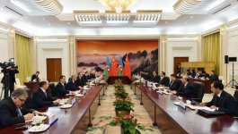 President Aliyev: Route through Azerbaijan can be shortest way to deliver Chinese products to Europe (PHOTO) - Gallery Thumbnail