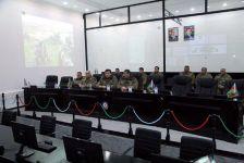 Azerbaycan Savunma Bakanı ön cephede yerleşen askeri birlikleri ziyaret etti - Gallery Thumbnail