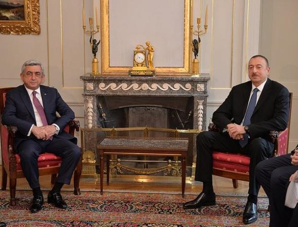 Azerbaycan ve Ermenistan cumhurbaşkanları İsviçre'de görüştü