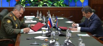 Азербайджан и РФ подписали план военного сотрудничества на 2016 год - Gallery Thumbnail