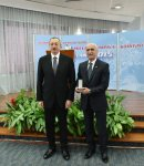 President Aliyev, his spouse attend ceremony dedicated to 2015 sport results - Gallery Thumbnail