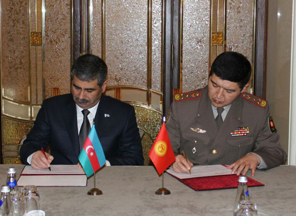 Azerbaijan signs military cooperation plans-2016 (PHOTO) - Gallery Image