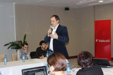 "Bakcell organizes another training for journalists: ""Mobile telecommunications. Phase 2"" - Gallery Thumbnail"