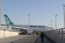 Iranian aircraft crashes into concrete fence at Istanbul's airport (PHOTO) - Gallery Thumbnail