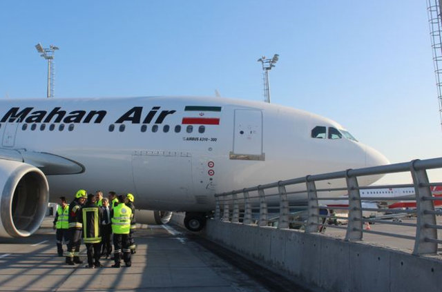 Iranian aircraft crashes into concrete fence at Istanbul's airport (PHOTO) - Gallery Image