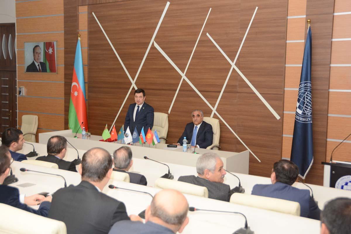 UNEC-də Türk Dünyası İqtisadçılar Birliyi təsis edilib (FOTO) - Gallery Image