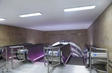 President Aliyev attends opening of expanded metro station in Baku - Gallery Thumbnail