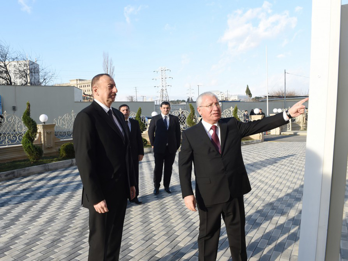 """President Aliyev attends opening of """"Veterinary town"""" - Gallery Image"""