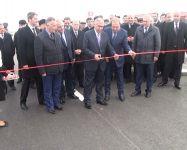 Hacıqabul-Kürdəmir avtomobil yolunun yenidənqurmadan sonra açılışı olub (FOTO, VİDEO) - Gallery Thumbnail