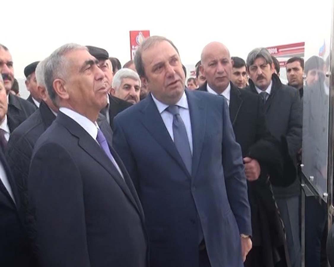 Hacıqabul-Kürdəmir avtomobil yolunun yenidənqurmadan sonra açılışı olub (FOTO, VİDEO) - Gallery Image