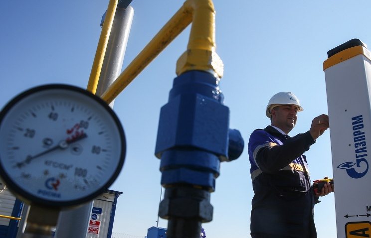 Russian Gazprom's gas supply to Europe sharply up