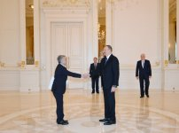 Azerbaijani president receives credentials of newly appointed Algerian ambassador - Gallery Thumbnail