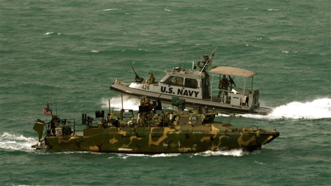 US navy boats enter Iran's waters due to technical problems - IRGC