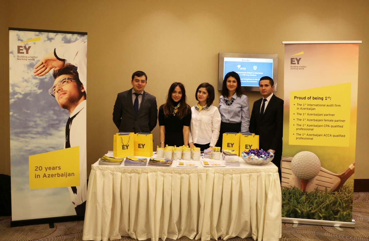 EY Baku office sponsors fifth AmCham Annual Tax Conference (PHOTO)