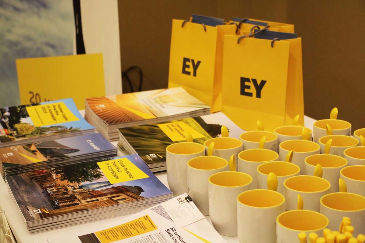 EY Baku office sponsors fifth AmCham Annual Tax Conference (PHOTO) - Gallery Image