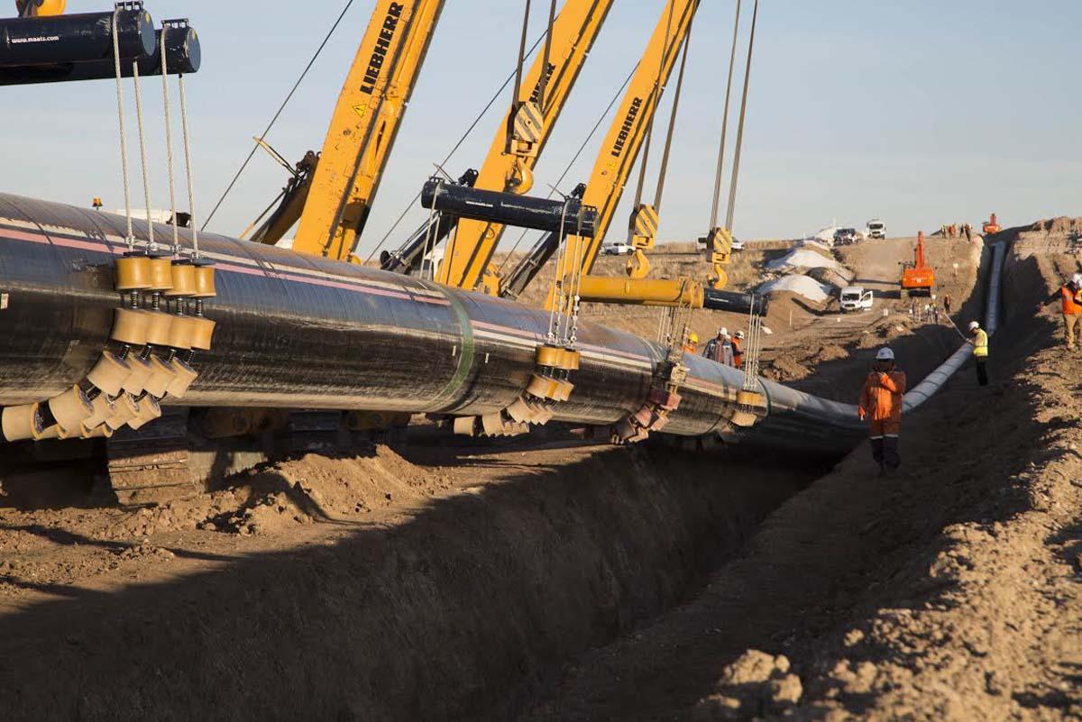 В Греции и Албании очищено 99% территории под газопровод TAP