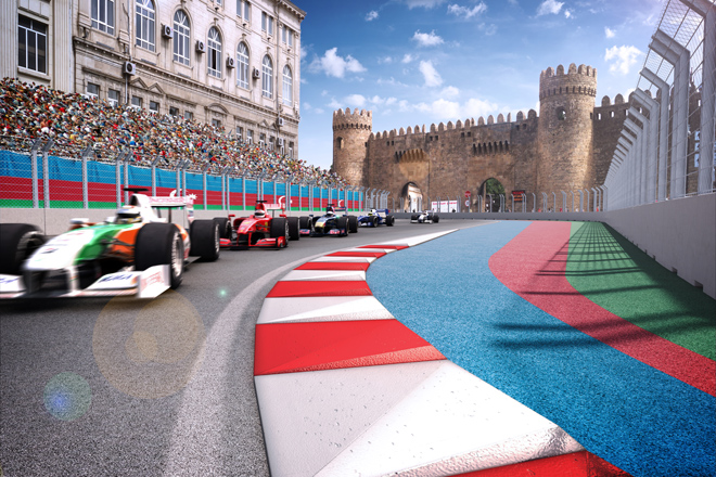 Formula 1 simulators to be installed on Baku Boulevard