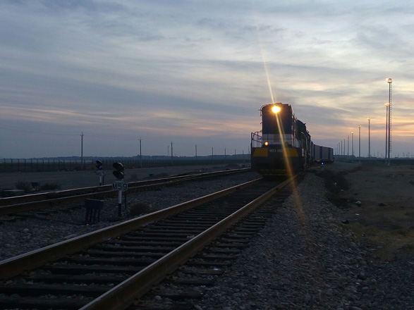 First container train from Ukraine to China arrives at Baku port